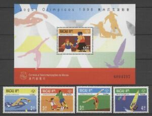 Macau Macao 1996 Olympic Game stamps set