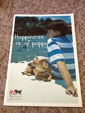 THE PURINA PUPPY & KITTEN CLUB, HAPPINESS IS A PUPPY