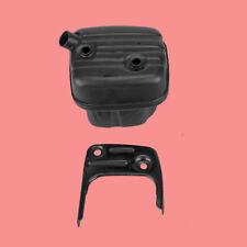 Muffler Exhaust with Bracket Bolt Screw Kit For Husqvarna 345 340 350 353 346XP