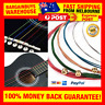 Colorful Rainbow Colored Acoustic Guitar Strings Red Green Yellow Blue Strings