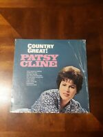 Patsy Cline - Country Great! Vinyl LP - MCA CB-20107 in the Shrink Wrap
