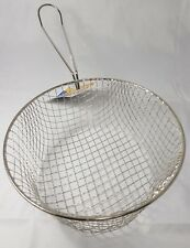 Replacement Wire Chip Pan Frying Basket To Fit 8 Inch 20cm Chip Pan Pendeford