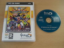 Freedom Force PC cd rom so-envoi rapide
