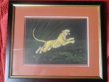 """Inde peinture de bruno lamy """"tigre"""" miniature indienne"""