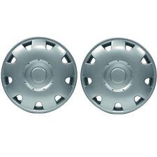 "Pair Of 13"" Inch Silver Jupiter Caravan Motorhome Wheel Trims Rims Hub Caps"