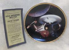 1994 Hamilton Collection Star Trek The Voyagers Collector Plate Coa 0365k