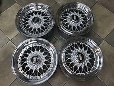 BBS RS 3tlg 4x100 RS001 RS071 BMW E30 E21 E10 VW Golf Jetta Schmiederäder Wheels
