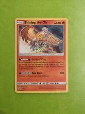 Ultra Rare Shining Ho-Oh SM70 Promo Holo/Textured Pokemon Card - Near Mint