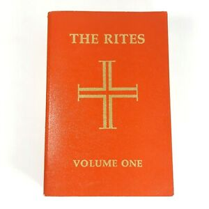 VTG 1990 The Rites Of the Catholic Church The Roman Ritual Volume One Book