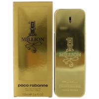 1 One Million by Paco Rabanne Eau De Toilette Spray Men 100ml 3.4OZ New in Box