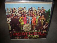 BEATLES sgt pepper's ( rock ) capitol stereo reissue - INSERT -