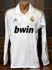 2011/2012 Adidas Real Madrid Sergio Ramos #4 Long Sleeve Jersey Shirt