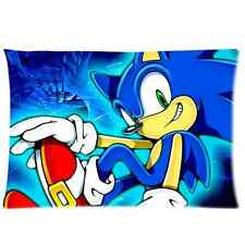 Brand New Sonic the Hedgeho Rectangle Pillow Case 20x30 Inch(One Side)
