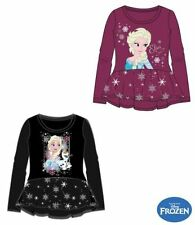 Girls' No Pattern 100% Cotton Tunic T-Shirts & Tops (2-16 Years)