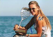 Victoria Vika Azarenka Tennis 5x7 PHOTO Signed Auto