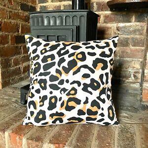 1069. Animal print 100% Cotton Cushion Cover. Various sizes