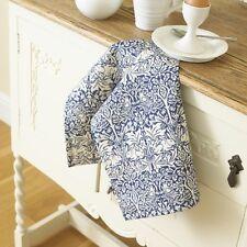 William Morris Brother Rabbit Cotton Floral Tea Towel