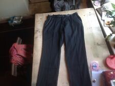 Black Whistles Three-Quarter Length Trousers Size 8 To 10 Cotton