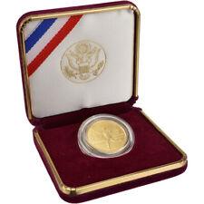 1995-W US Gold $5 Atlanta Olympic Torch Runner Commemorative BU