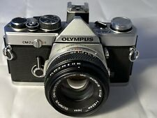 Olympus OM-2N Film Camera & 50mm f1.8 Lens, New Seals, Meter Working, Excellent