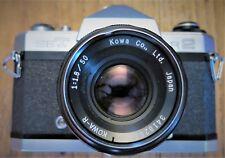 Kowa Set R2 camera Body with Kowa-R 50/1:1.8 Lens 35mm Film