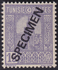 TUNISIA FINE SPECIMEN OVPT GOOD STAMP - S8384
