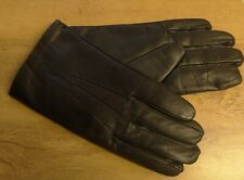 Dents Mens Dark Brown Leather Gloves with Cashmere Lining Size 10.5 New