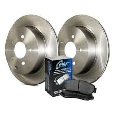 Rear Brake Pads and Rotors Plain Low Dust Low Noise Kit 908.33536