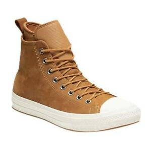 Converse Men Chuck Taylor All Star WP Waterproof Hi Boot Raw Sugar/Egret/Gum 12