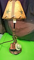 Western Table Lamp Decorative Vintage