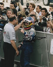 Jacques Villeneuve Hand Signed Williams Formula 1 10x8 Photo 2.