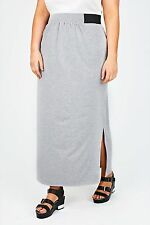No Pattern Maxi Skirts Plus Size for Women