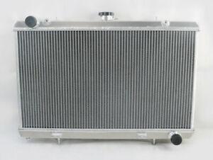 3 Reihe Aluminium Kühler Für NISSAN SILVIA 240SX 180SX S13 SR20DET 1988-1994 90