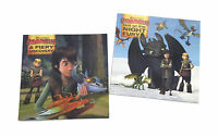 NEW Set of 2 DreamWorks How To Train Your Dragon Story Books Picture Book Set