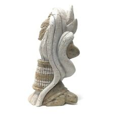 IROQUOIS SOAPSTONE CARVING, JOE POWLESS, GRAND RIVER RESERVATION