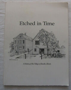 Etched in Time A History of the Village of Roselle, Ilinois Book*1992*genealogy