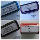 Personalized Custom 4 LINE RETURN ADDRESS Self Inking Rubber Stamp - Customized