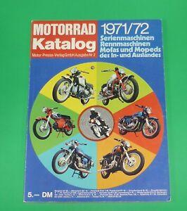 Motorrad Katalog 1971 / 72, Ausgabe 2, in besonders gutem Zustand