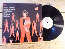ROD STEWART BODY WISHES LP VINYLE EX COVER EX ORIGINAL 1983