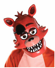 Five Nights At Freddy's Foxy 1/2 Mask Child PVC FNAF Horror Game Cosplay