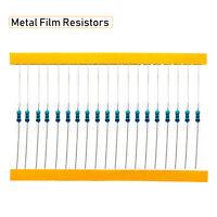 600PCS 1/4W 5% 30 valeurs Résistances Film Métal  ohm Assortiment Kit