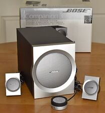 BOSE Companion 3 Multimedia System Computer Speakers - Excellent, in Box