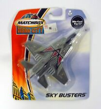 MATCHBOX STEALTH FIGHTER Sky Busters Die-Cast MOC COMPLETE 2003