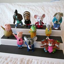 🔴2017 MCDONALDS SING COMPLETE SET 10 FIGURES toys french canadian edition