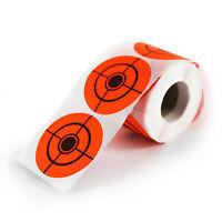 250pcs/Roll 2 inch Self-adhesive Target Stickers for BB Pellet Air Gun Shooting