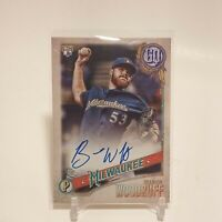 2018 Topps Gypsy Queen Brandon Woodruff Rookie On-Card Auto San Diego Padres