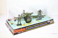 Dinky 609 105mm Howitzer With Gun Crew In Its Original Box - Very Near Mint
