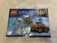 New LEGO City Arctic 30360 Ice Cutter Vehicle Poly Bag Mini Set With Figure