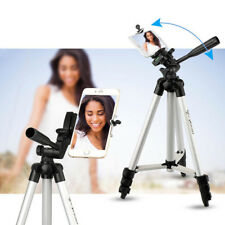 Professional Telescopic Camera Tripod Mount Stand + Phone Holder + Carry Bag Set