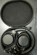 Sony Wh-1000Xm4 Wireless Over-Ear Headphones Black Active Noise Canceling Xm4